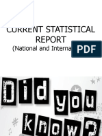 CURRENT STATISTICAL REPORT