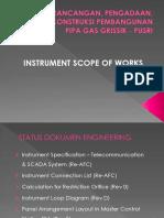 Instrument Scope of Work Presentation