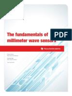 Fundamentals of MmWave Sensors