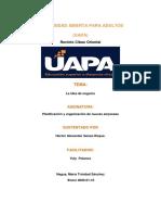 tarea 1 de planificacion y organizacion de nuevas empresas
