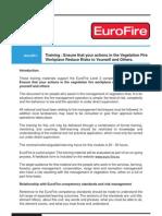 Eurofire Training Ef1 Safety