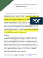 ANÁLISE TERMODINÂMICA DAS SONDAGENS DE CAXIUANÃ DURANTE O EXPERIMENTO PECHULA.
