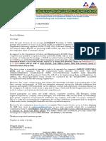 BOSH_Invitation Letter on February 4, 6, 7, 8, 9, 2019 at Taft Avenue, Pasay City