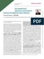 Editorial chronic coronary syndrome