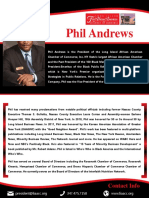 Phil Andrews LI African American Chamber Press Kit