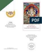 White Dzambhala booklet
