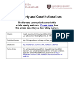 On Property and Constitutionalism