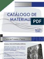Catalogo Materiales RCC2013