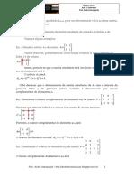 Álgebra Linear - Aula 7 - Cofatores