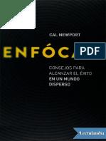 Enfocate - Cal Newport