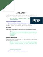 Clasificación de ACTOS JURIDICOS 2.pdf
