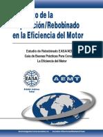 El Efecto de la Reparación_Rebobinado en la Eficiencia del Motor