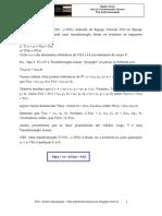 Álgebra Linear - Aula 12 - Matriz Mudança de Base