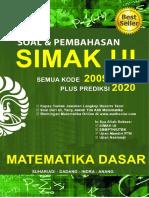 Spoiler Buku Matematika Dasar SIMAK UI 2009-2019