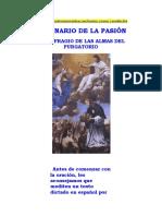 DECENARIO DE LA PASIÓN EN SUFRAGIO DE LAS ALMAS DEL PURGATORIO