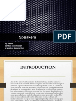 Speakers.ppt