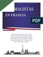 Andrea Saray Cárdenas Gonzáles, et al, Normalistas en Francia