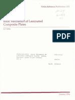 Basic Mechanics of Laminated Composite Plates[1]