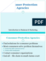 Consumer Protection Agencies