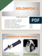 AKF cara penggunaan fraktometer.pptx
