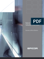Epicor Solution Overview Brochure