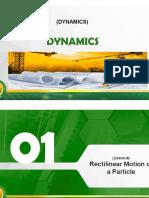 Module 2 - Rectilinear Motion