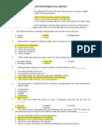 Actual Civil Service Exam (Set A)
