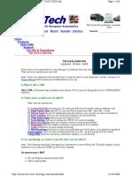 VCDS ALH Engine Series TDI Adaptions