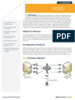 SonaVault for Email Archiving Migration Datasheet