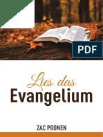 Lies Das Evangelium - Zac Poonen