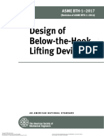 ASME BTH-1 - Design of Below-the-Hook Lifting Devices 2017