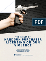 Impact of Handgun Purchaser Licensing