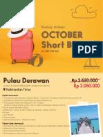 oktober short break kdq