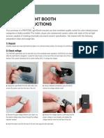 Pantone-Light-Booth-Usage-Instructions