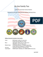 We Are Family Too - Letters to the Pentagon from LGB Military Voices