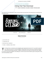 The Sinking City Free Download « IGGGAMES