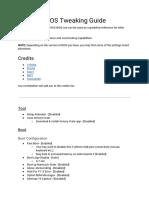 Revision BIOS Tweaking Guide