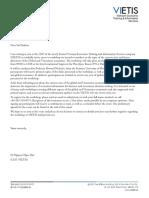 Vietis_Letter to Participants