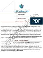 eye Q technologies Profile