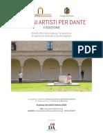 Bando e Faq Giovani Artisti per Dante 2020