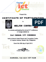 MELJUN CORTES 2010 Ict Council Caraga 2nd Caraga Ict Congress
