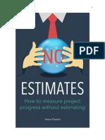 NoEstimates - Vasco Duarte - version 1.0