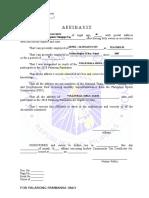 affidavit 2016 (1)