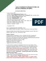 Dicas instalação Oracle Forms