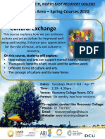Cultural Exchange - Recovery College