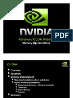 NVIDIA GPU Computing Webinars CUDA Memory Optimization