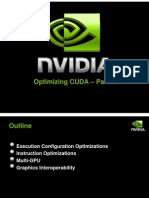 NVIDIA GPU Computing Webinars Further CUDA Optimization