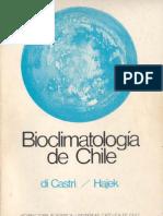 Bioclimatologia de Chile