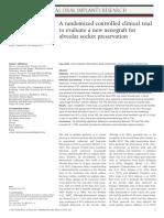 COIR Protocolos de preservação alveolar - socket preservation