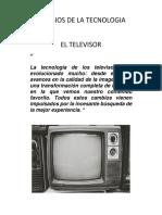 CAMBIOS DE LA TECNOLOGIA